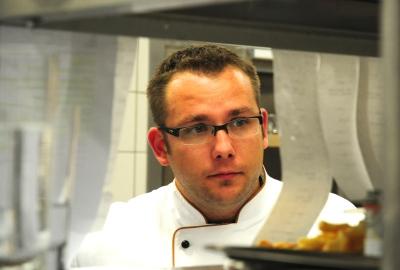 Ronny Siewert, Chefkoch des Gourmetrestaurants Friedrich Franz im Grand Hotel Heiligendamm (Foto: Jasper Ehrich)
